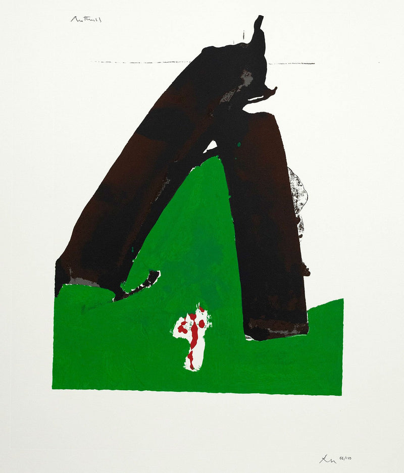 Robert Motherwell Basque Suite 1971