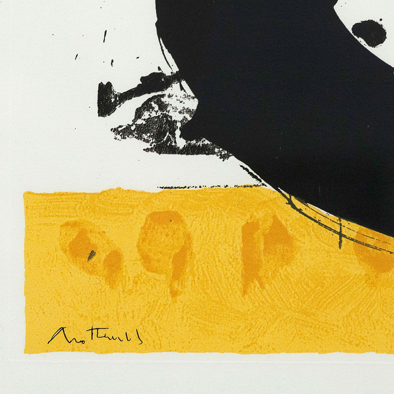 "ROBERT MOTHERWELL ""BASQUE SUITE No. 4"" SCREENPRINT, 1972"