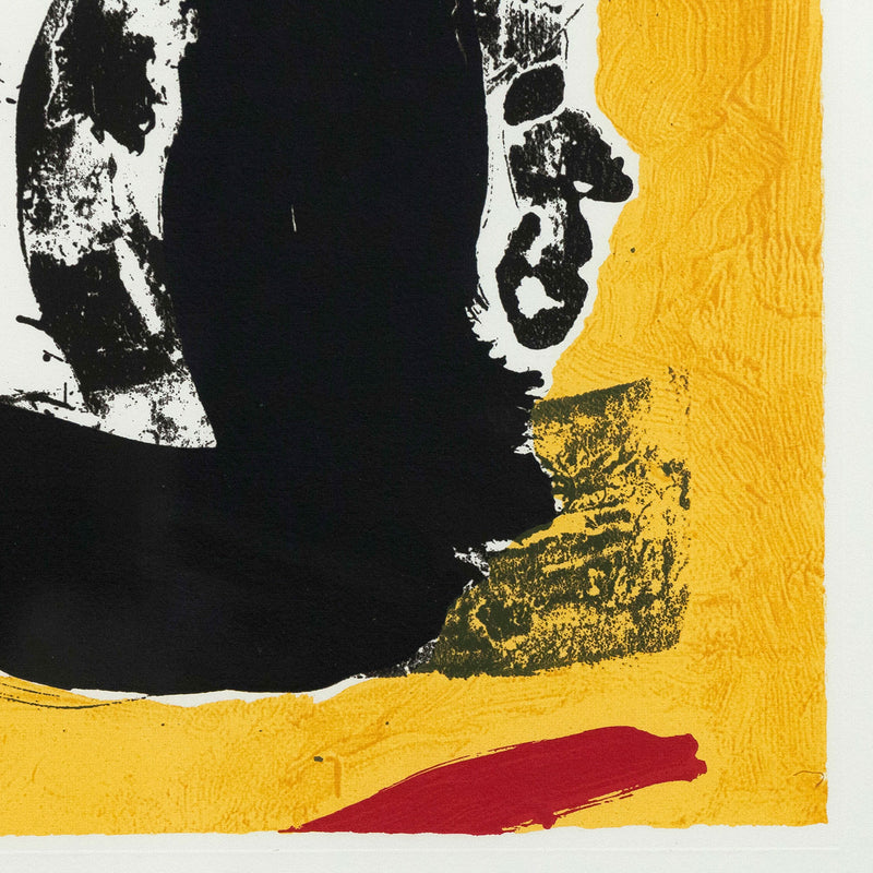 "ROBERT MOTHERWELL ""BASQUE SUITE No. 4"" SCREENPRINT, 1970"