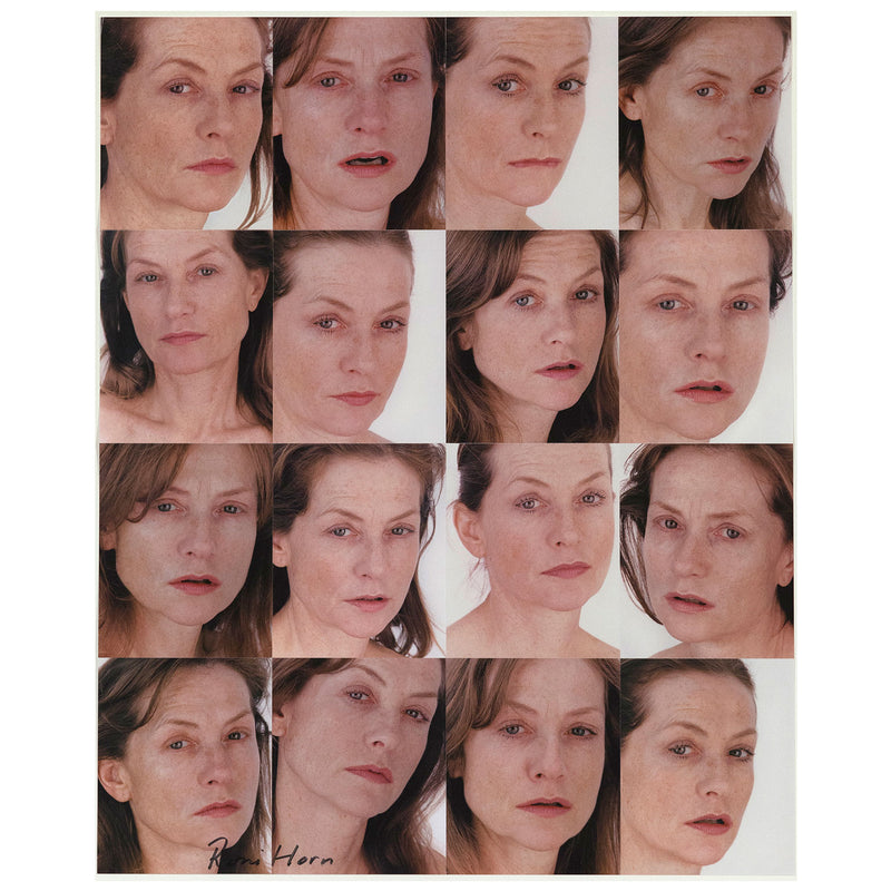 Roni Horn Portrait of an Image Isabelle Huppert Caviar20