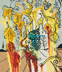 "SALVADOR DALI ""PORTRAIT OF AUTUMN"" 1980, LITHO"