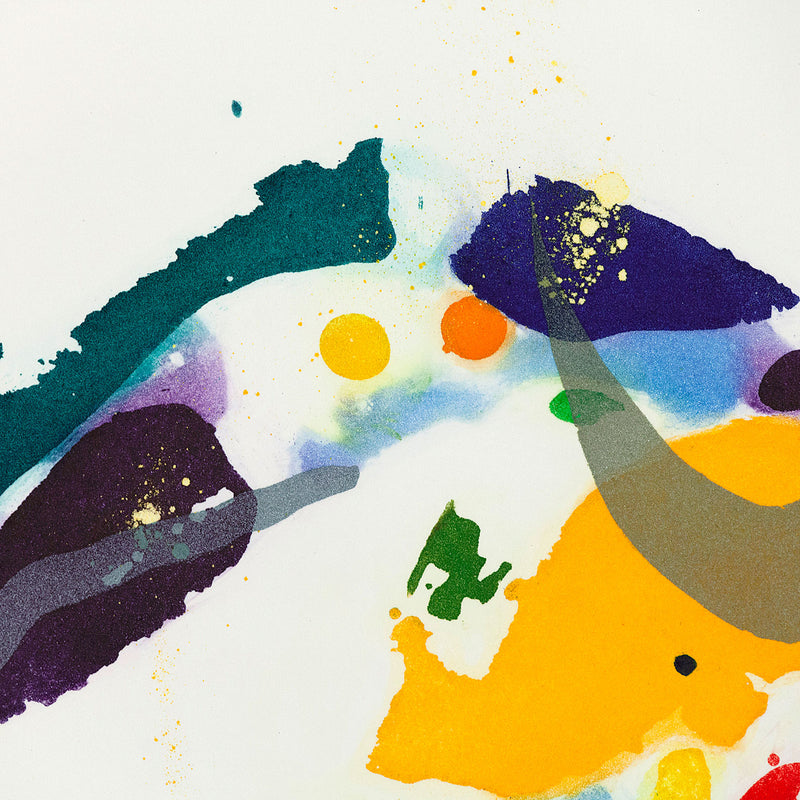 Sam Francis works on paper etching Caviar20 1994