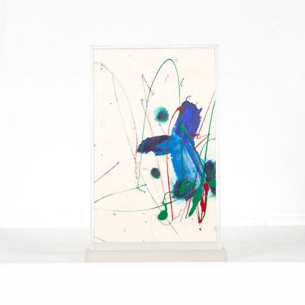 Sam Francis, Yea, Painted Book, 1989, Caviar20, Cid Corman, Editions