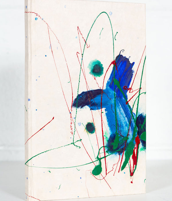 "SAM FRANCIS ""YEA"" PAINTED BOOK, 1989"