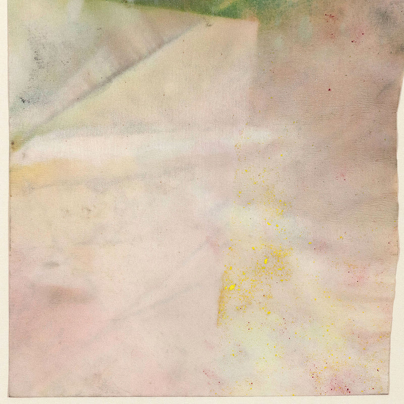 "SAM GILLIAM ""CORNER"" WATERCOLOR, 1967"