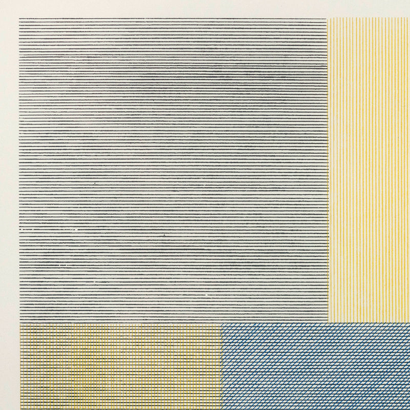 "SOL LEWITT ""COMPOSITE SERIES -PIXELS"" SCREENPRINT, 1970"