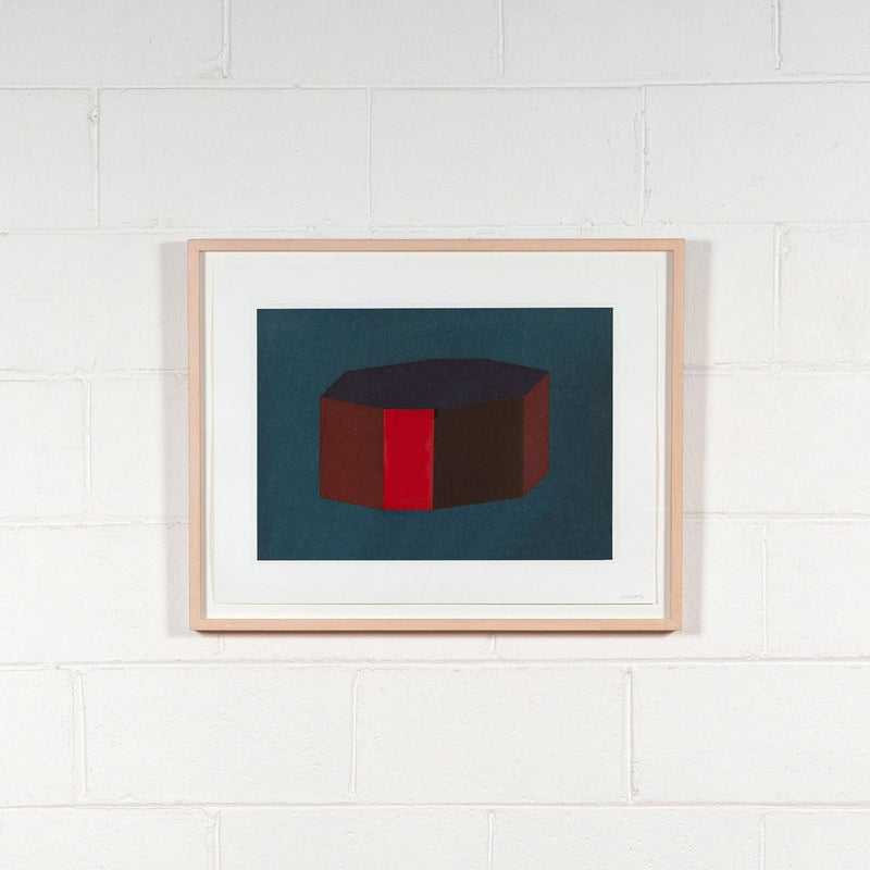 Sol Lewitt, Forms Derived from a Cubic Rectangle, #12 Aquatint, print, 1990, Caviar20 prints,