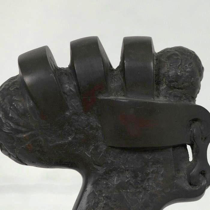 Sorel Etrog Key Head Bronze Small sculpture Caviar20