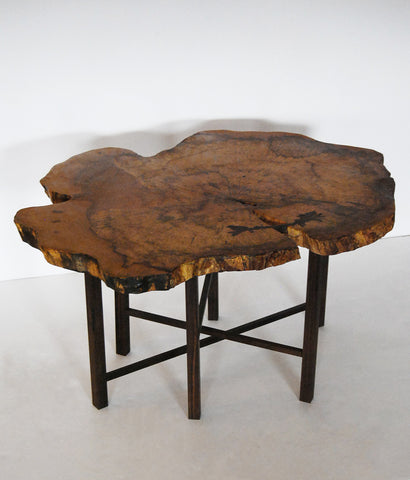 "DON HOWELL ""SPALTED SUPREME"" COCKTAIL TABLE"