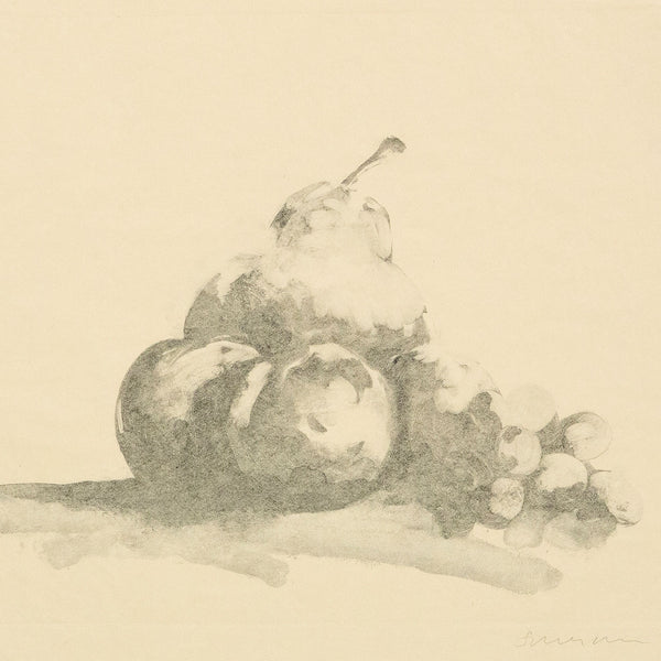 Tony Scherman, Fruit, Monoprint, 1999, Caviar 20