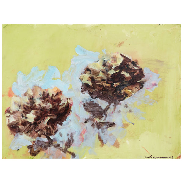 Tony Scherman, Peonies, Encaustic painting, 2003, Caviar 20, full work