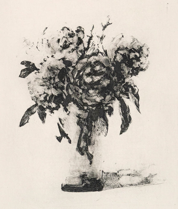 Tony Scherman, Bouquet, Aquatint, 2001, limited edition