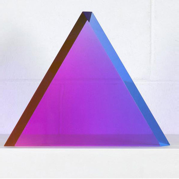 Caviar20 Vasa acrylic Bel-Air triangle sculpture