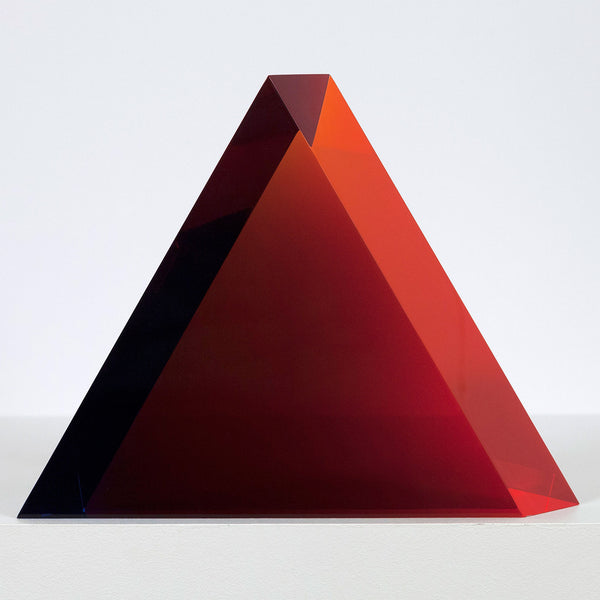 Vasa Mihich Superman Triangle acrylic sculpture Caviar20