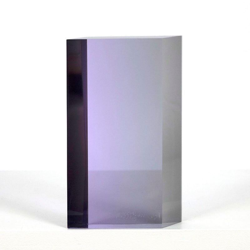 Vasa Mihich acrylic sculpture Caviar20  purple