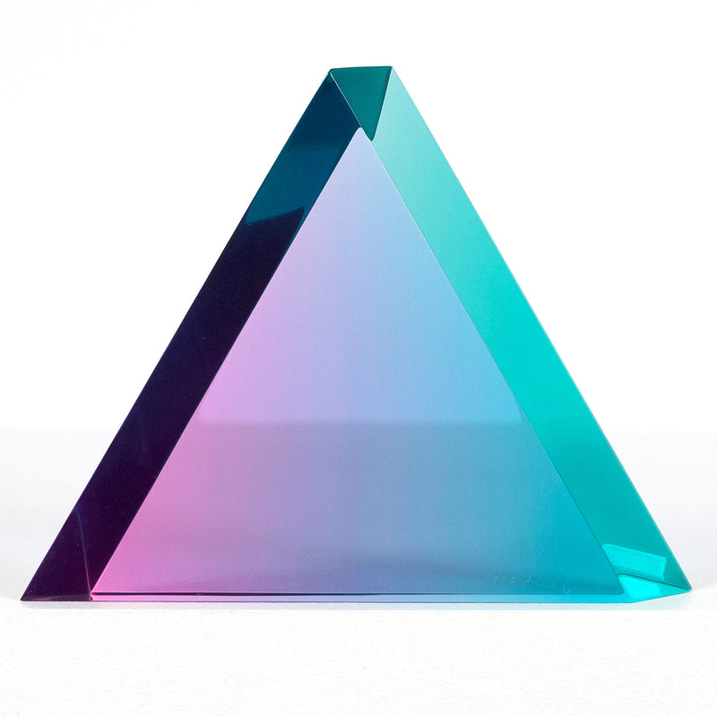 "VASA MIHICH ""BLUE RASPBERRY"" TRIANGLE"", 2018"
