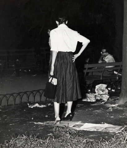 "WEEGEE ""GIRL WITH PROBLEM"", 1940"