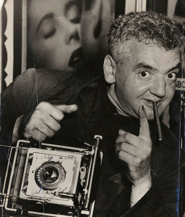 Weegee photography Caviar20 self portrait 1950