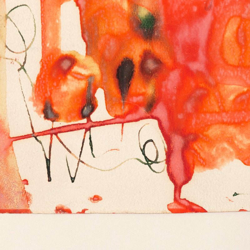 "WILLIAM RONALD ""UNTITLED"" WATERCOLOR, 1959"