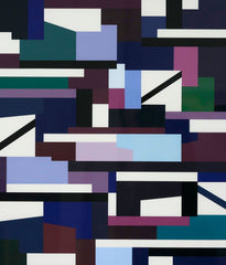 "YAACOV AGAM ""PURPLE MATRIX"" 1976"
