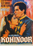 """KOHINOOR"" FRAMED VINTAGE INDIAN MOVIE POSTER, 1960"