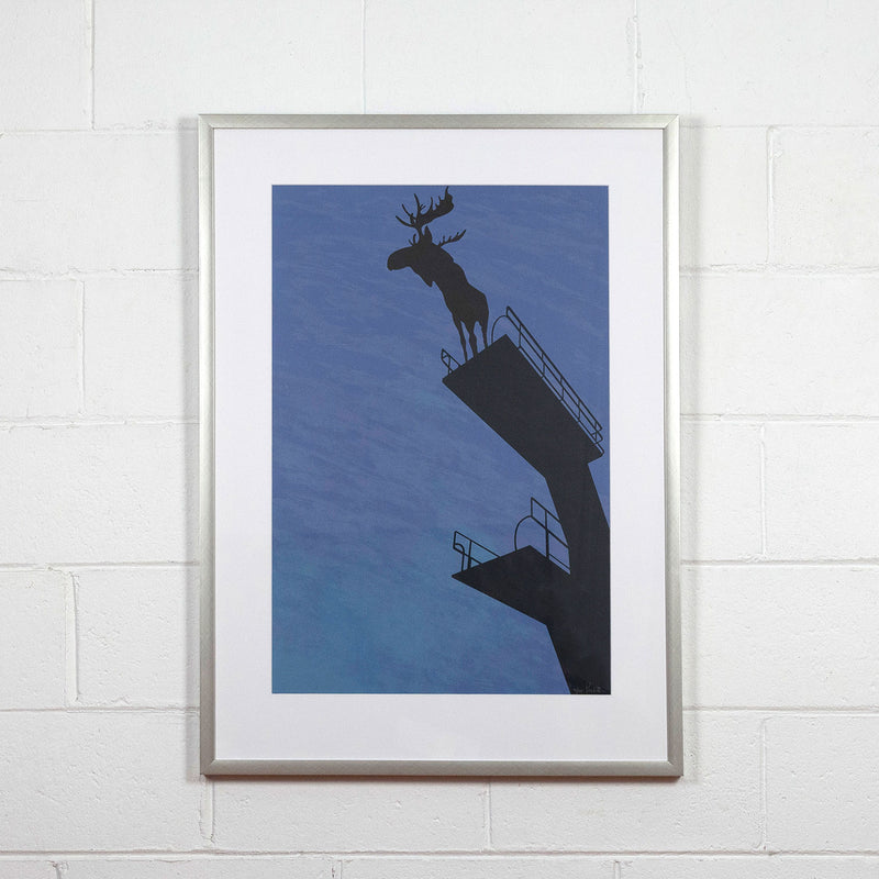 charles pachter moose prints Caviar20 canadian art