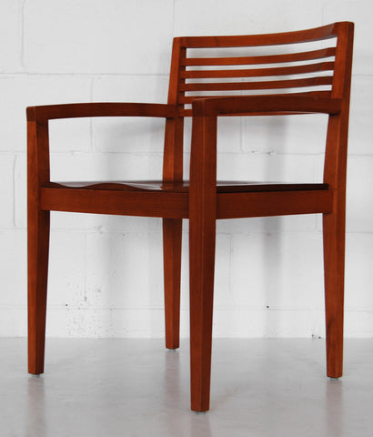 RICCHIO NATURAL WOOD CHAIR BY KNOLL
