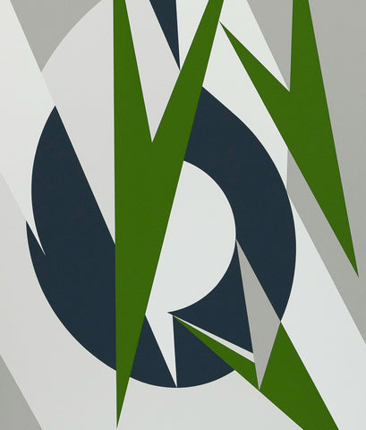 "LEE KRASNER ""EMBRACE FOR THE OLYMPICS"" SCREENPRINT, 1974"