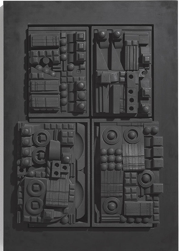 Louise Nevelson Rhythm III sculpture