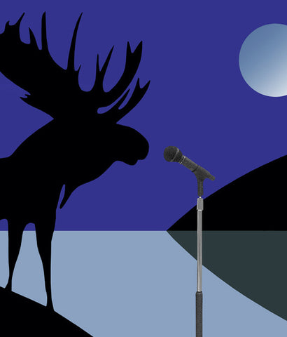 "CHARLES PACHTER ""MOOSE LUMINOUS"" 2010"