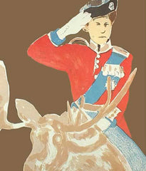 "CHARLES PACHTER ""QUEEN ON MOOSE"" 1973"