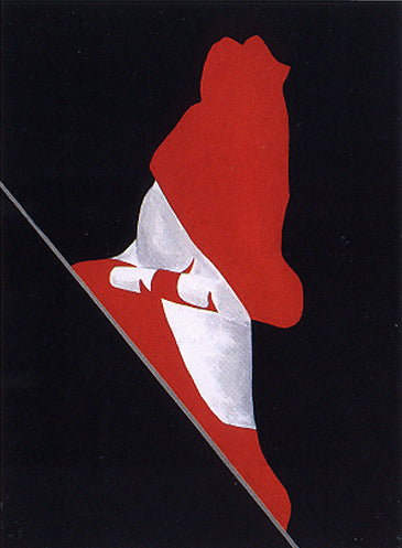 "CHARLES PACHTER ""PAINTED FLAG (MALE)"" 1981"