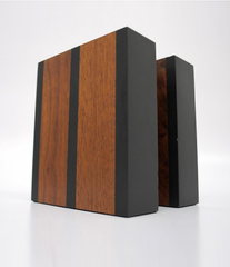 PAUL EVANS & PHIL POWELL WALNUT BOOKENDS