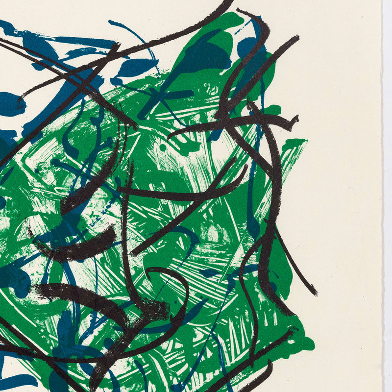 "JEAN-PAUL RIOPELLE ""ALBUM 67 NO. 2"" LITHO, 1967"