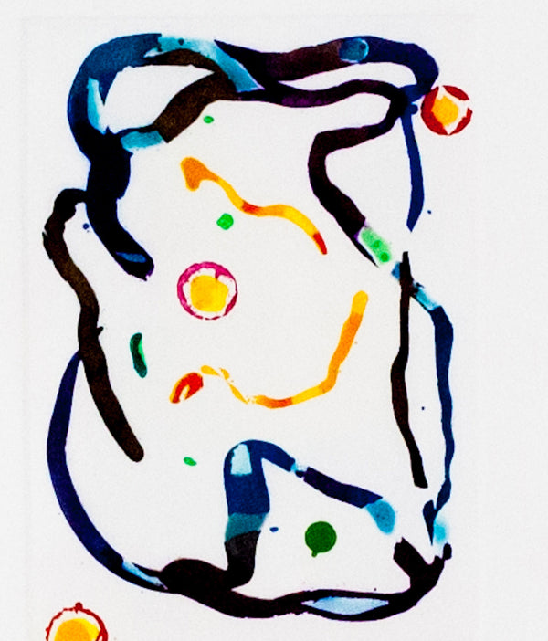"SAM FRANCIS ""UNTITLED ETCHING"" 1992"