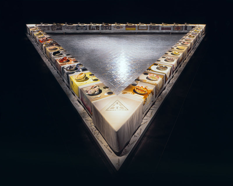 Judy Chicago the Dinner Party Caviar20
