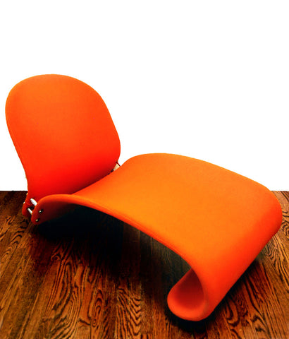 VERNER PANTON 1963 RARE LOUNGE CHAIR