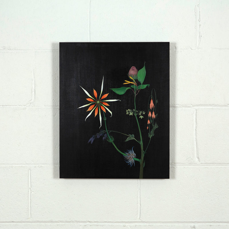 "ZACHARI LOGAN ""FANTASY FLOWER"" PAINTING, 2019"