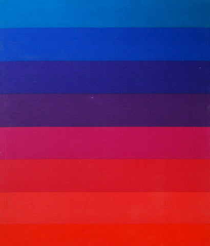 "VERNER PANTON ""COLOR BAR"" FABRIC PANEL"