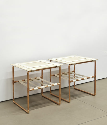 "DAVID CHANG ""MARU"" SIDE TABLES, 2011"