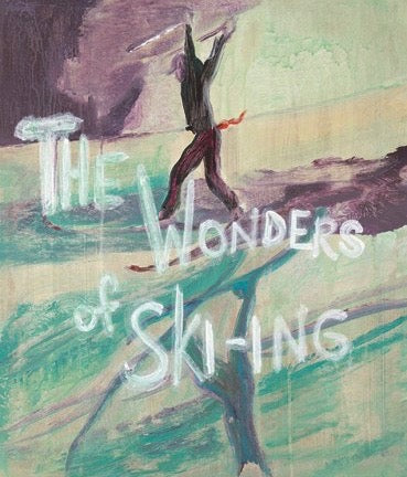 "PETER DOIG ""WONDERS OF SKIING"" BOOK & PRINT,  2007"