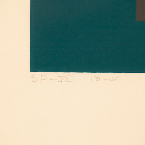 "JOSEF ALBERS ""HOMAGE TO THE SQUARE"" SERIGRAPH, 1967"