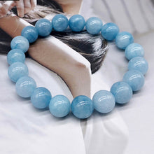Load image into Gallery viewer, Nature Blue Stone Bracelet