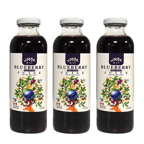 RJT blueberry 100% Pure Juice
