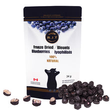Load image into Gallery viewer, RJT Freeze Dried Blueberries