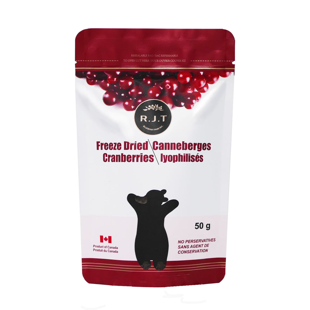 RJT Freeze Dried Cranberries