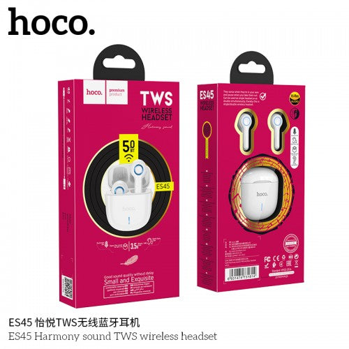 سماعة رأس لاسلكية hoco ES45 Harmony Sound TWS Wireless Headset