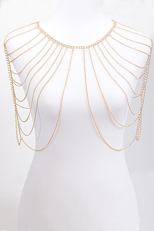 Shoulder Drop Body Chain