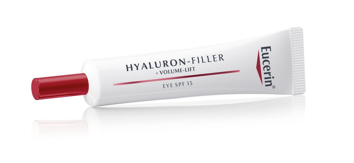 يوسيرين فولير فيلر للعين 15 مل Eucerin Hyaluron - Filler + Volume-Lift Eye Cream SPF15 15ml