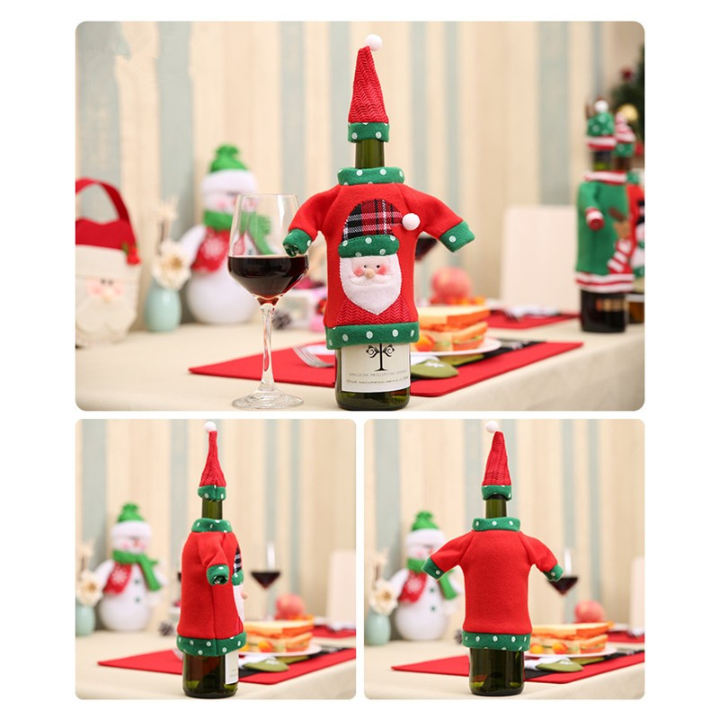 Christmas Wine Bottle Cover - SURPRISEYOU